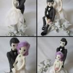 Свадебные куклы жениха и невесты