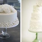 Свадебные торты округлой формы