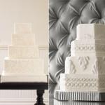 Свадебные торты угловатой формы