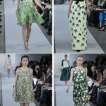 Оттенки зеленого - прекрасный вариант расцветки вечернего наряда
