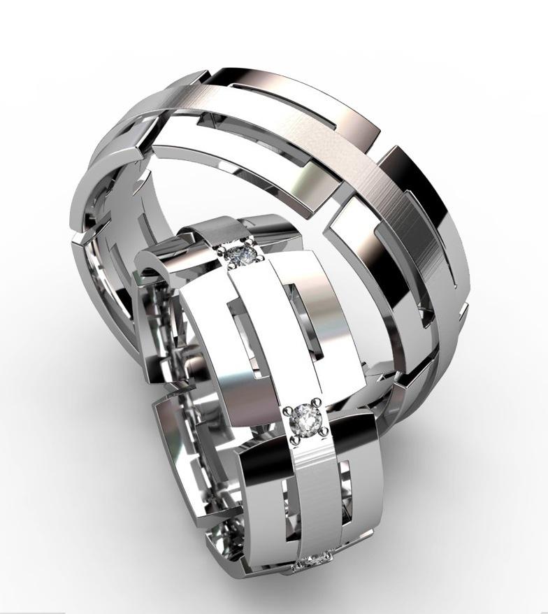обручальные платиновые кольца фото