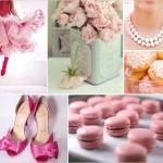 Аксессуары для розовой свадьбы
