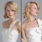 Невеста со светлыми волосами