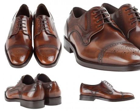 Туфли на свадьбу от Salvatore Ferragamo