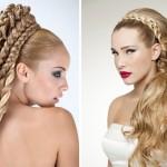 Невеста с золотыми косами