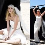 Стильный образ невесты с необычной фатой
