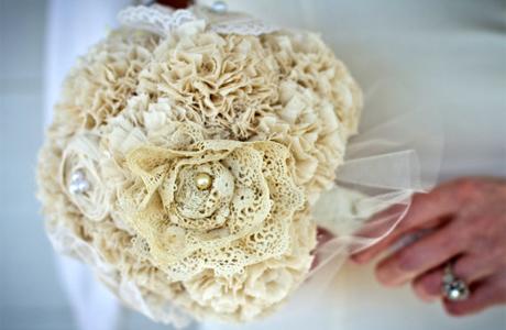 Идея дня: букет для тематической свадьбы