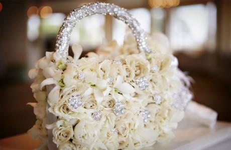 Дизайнерский свадебный букет