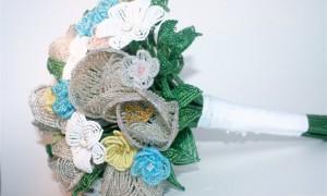 Идея дня: изысканный свадебный букет из бисера