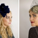 Готическая свадебная шляпка невесты