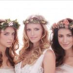 Венки для невесты в стиле натурал