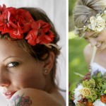 Красочные свадебные венки