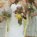 Свадебный букет невесты из овощей