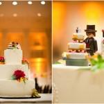 Фигурки для свадебного торта из конструктора лего