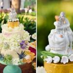 Фарфоровые фигурки для свадебного торта