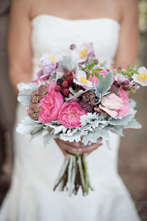 Оригинальные свадебные букеты
