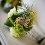 Свадебный букет с полевыми цветами