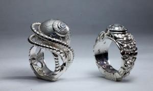 Идея дня: креативные обручальные кольца