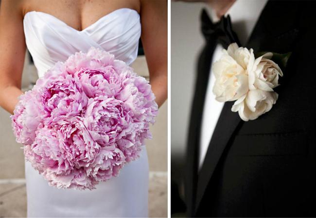 Wedding Saloon :: свадебный букет из розовых пионов - Свадебные