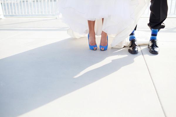 Синие торты на свадьбу