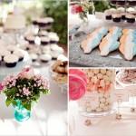 Сладкий стол для свадебной церемонии