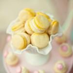 Пирожные в желтом цвете на твоей свадьбе
