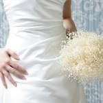 Акриловый свадебный букет