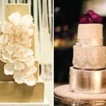 Свадебный торт и цветочные украшения