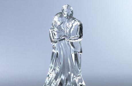 Стеклянная свадьба - статуэтка