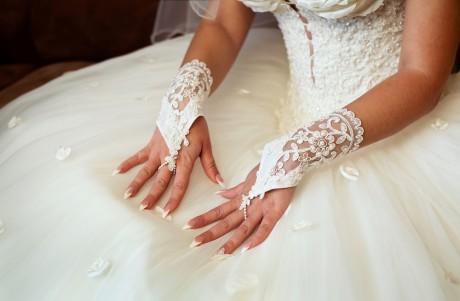Свадебный маникюр в  несколько шагов
