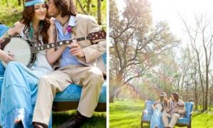 Идея дня: свадьба в стиле хиппи