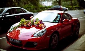 Идея дня: способы украшения свадебного авто