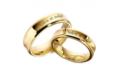 Обручальные кольца с гравировкой - мода 2012