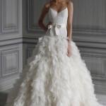 Нежное белое платье