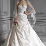 Платье с цветочным декором