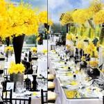 Желтые цветы повсюду