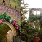 Романтическое оформление парковой свадьбы