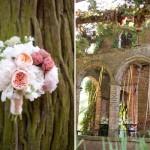 Арочные проемы на парковаой свадьбе