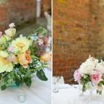 Оформление свадьбы цветами мягких тонов