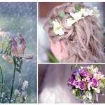 Фрезии в свадебном декоре