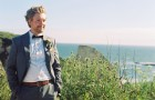 california-elopement-groom-bowtie-ocean-cliff