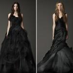 Черные свадебные платья из коллекции Веры Вонг