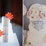 Серебро на свадебном торте