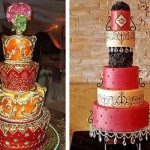 Свадебные торты в индийском стиле