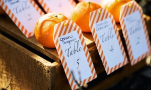 rustic-citrus-wedding-inspiration-outdoor-spring-wedding-ideas-unique-escort-cards__full
