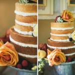 Розы в оформлении свадебного десерта
