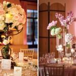 Цветочные композиции и свечи для романтики