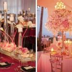 Мягкие цветочные композиции со свечами