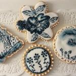 Сине-белые сладости