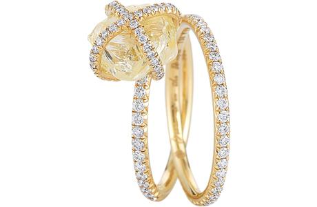 Обручальные кольца Diamond In The Rough